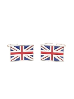 Запонки британский флаг Англия Churchill accessories