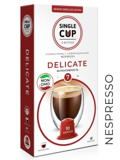 Кофе Delicate, 90 г. Single Cup Coffee