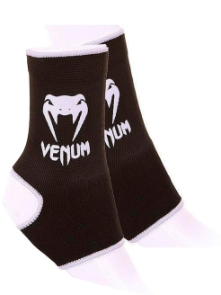 Суппорты Venum Ankle Support Guard - Muay Thai Kick Boxing Black Venum