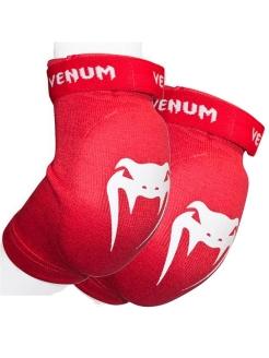 Налокотники Venum Kontact Elbow Protector - Cotton Red (пара) Venum