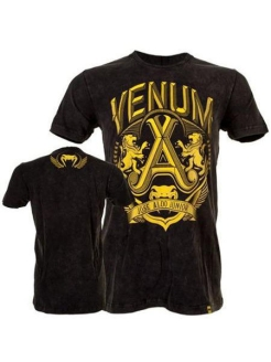 Футболка Venum Jose Aldo Vitoria T-shirt - Black/Yellow Venum