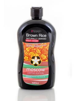 Гель для душа MOSCOW BROWN RICE