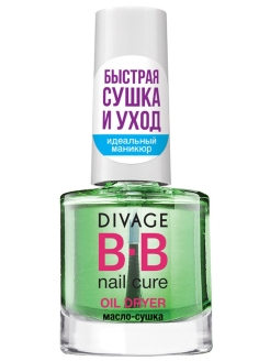 BB NAIL CURE Масло-сушка OIL DRYER чайное дерево DIVAGE