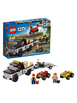 City Great Vehicles Гоночная команда 60148 LEGO