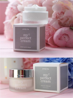 My PERFECT CREAM для лица - сила науки против первых признаков старения, 2 баночки IFFECTA PRO