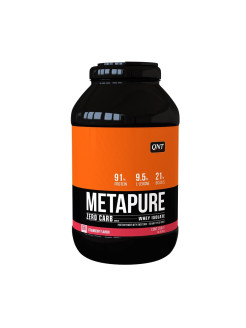 Изолят METAPURE ZERO CARB (клубника), 2 кг QNT