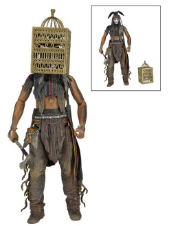 "Фигурка ""The Lone Ranger 7"" Series 2 - Tonto with Bird Cage Neca"