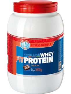 Fit WHEY PROTEIN  (1800 гр.) шоколад (FITNESS FORMULA) Академия-Т