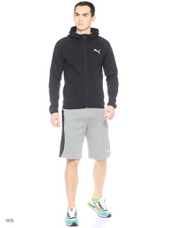 Шорты Evostripe SpaceKnit Shorts PUMA