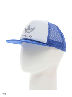 Бейсболка H TRUCKER CAP       BLUE/WHITE Adidas