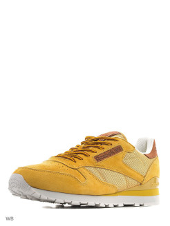 Кроссовки CL LEATHER OL       GOLDEN WHEAT/STEEL/G Reebok
