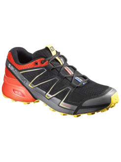 Кроссовки SHOES SPEEDCROSS VARIO BLACK/RD/YE SALOMON