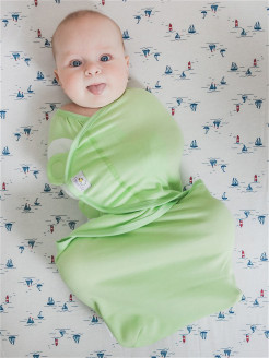 Пеленка SwaddleFun, Light Green Pecorella