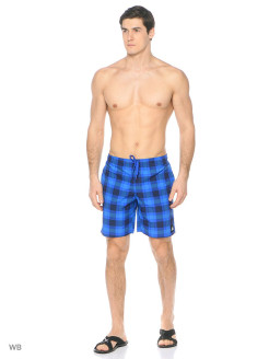 Шорты CHECKED WATER SHORTS Adidas
