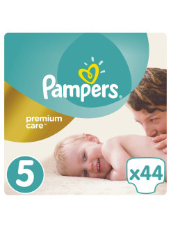 Подгузники Pampers Premium Care 11-18 кг, 5 размер, 44 шт. Pampers