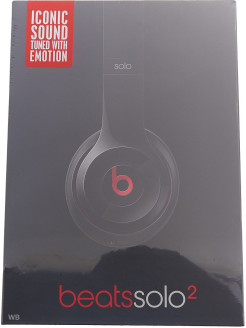Наушники Beats Solo2 On-Ear Headphones, черный (MH8W2ZE/A) Beats