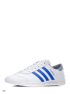 Кроссовки HAMBURG             FTWWHT/BLUE/GREY Adidas