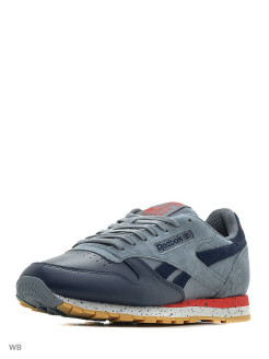 Кроссовки CL LEATHER SM       ASTEROID DUST/NAVY/R Reebok
