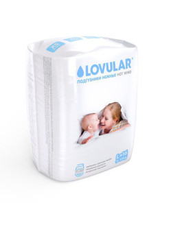 Подгузники LOVULAR HOT WIND L, 9-13 кг. 16 шт/уп LOVULAR