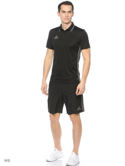 Поло муж. CON16 CL POLO       BLACK/VISGRE Adidas