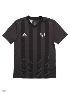 Футболка YB MESSI ICON T  UTIBLK/WHITE Adidas
