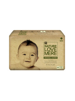 Подгузники original Basic Diaper M (6-9 кг) 44 шт. Nature Love Mere