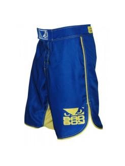 Шорты MMA Blue/Yellow Bad boy
