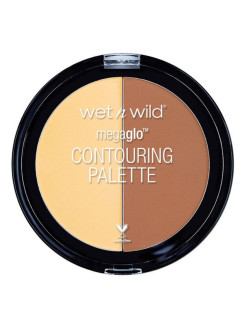 Палетка для контуринга Megaglo Contouring Palette Contour E7501 тон caramel toffee Wet n Wild