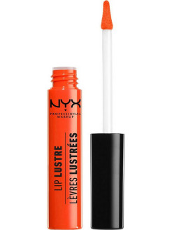 Лаковый блеск LIP LUSTRE GLOSSY TINT - JUICY PEACH 08 NYX PROFESSIONAL MAKEUP