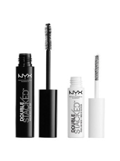 Тушь для ресниц DOUBLE STACKED MASCARA 01 NYX PROFESSIONAL MAKEUP