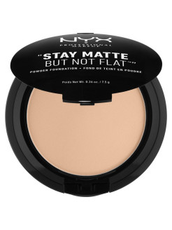 Тональная основа-пудра STAY MATTE NOT FLAT POWDER FOUNDATION - SOFT SAND 045 NYX PROFESSIONAL MAKEUP
