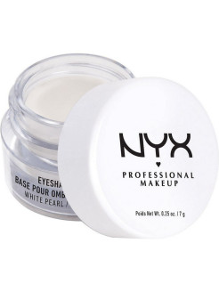 Основа для теней EYE SHADOW BASE - WHITE PEARL 02 NYX PROFESSIONAL MAKEUP