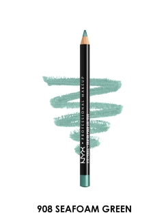 Карандаш для глаз SLIM EYE PENCIL - SEAFOAM GREEN 908 NYX PROFESSIONAL MAKEUP