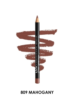 Карандаш для губ SLIM LIP PENCIL - MAHOGANY 809 NYX PROFESSIONAL MAKEUP