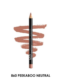 Карандаш для губ SLIM LIP PNCL-PEEKABOO NEUTRAL 860 NYX PROFESSIONAL MAKEUP