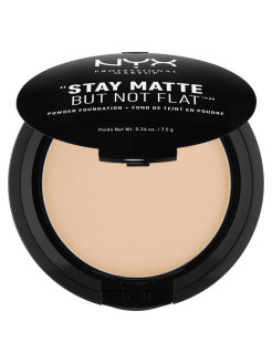 Тональная основа-пудра STAY MATTE BUT NOT FLAT POWDER FOUNDATION - BEIGE 105 NYX PROFESSIONAL MAKEUP