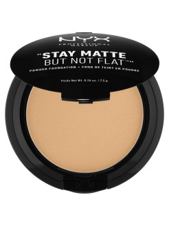 Тональная основа-пудра STAY MATTE BUT NOT FLAT POWDER FOUNDATION - SOFT BEIGE 05 NYX PROFESSIONAL MAKEUP