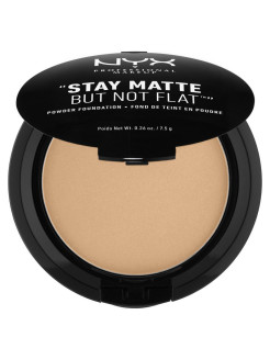 Тональная основа-пудра STAY MATTE BUT NOT FLAT POWDER FOUNDATION - TAN 09 NYX PROFESSIONAL MAKEUP