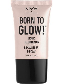 Хайлайтер для лица и тела. BORN TO GLOW LIQUID ILLUMINATOR - SUNBEAM 01 NYX PROFESSIONAL MAKEUP