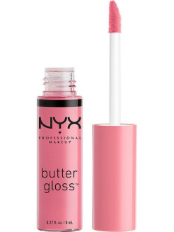 Увлажняющий блеск для губ BUTTER LIP GLOSS - VANILLA CREAM PIE 09 NYX PROFESSIONAL MAKEUP