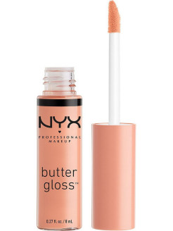 Увлажняющий блеск для губ BUTTER LIP GLOSS - FORTUNE COOKIE 13 NYX PROFESSIONAL MAKEUP