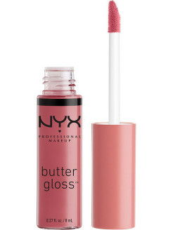Увлажняющий блеск для губ BUTTER LIP GLOSS - ANGEL FOOD CAKE 15 NYX PROFESSIONAL MAKEUP