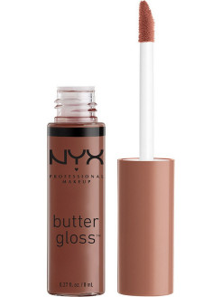 Увлажняющий блеск для губ BUTTER LIP GLOSS - GINGER SNAP 17 NYX PROFESSIONAL MAKEUP