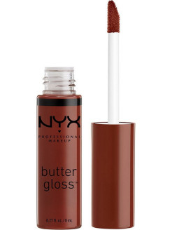 Увлажняющий блеск для губ BUTTER LIP GLOSS - RASPBERRY PAVLOVA 33 NYX PROFESSIONAL MAKEUP