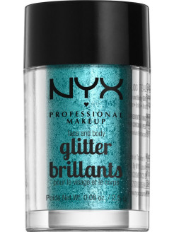 Глиттер для лица и тела FACE & BODY GLITTER - TEAL 03 NYX PROFESSIONAL MAKEUP