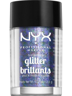 Глиттер для лица и тела FACE & BODY GLITTER - VIOLET 11 NYX PROFESSIONAL MAKEUP