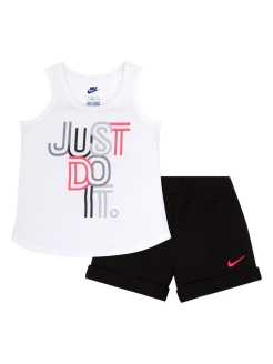 Костюм NKG JDI TANK & TERRY SHORT SET Nike