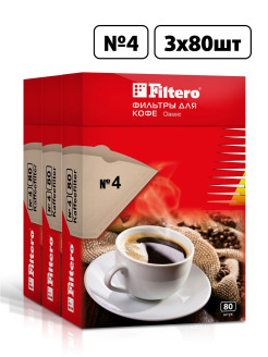 Accessory for coffee machines, Classic №4 / 240 Filtero