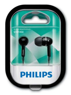 Наушники SHE1450BK/51 Philips
