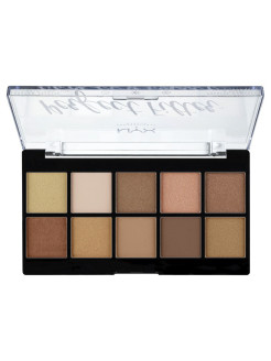 Палетка теней. PERFECT FILTER SHADOW PALETTE - GOLDEN HOUR 01 NYX PROFESSIONAL MAKEUP